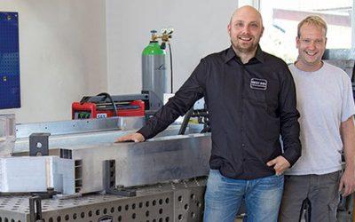 Aluminium welding revolutionises prototype building in the area of electric mobility