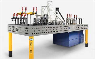 DEMMELER 3D welding tables – the optimum solution for many tasks!